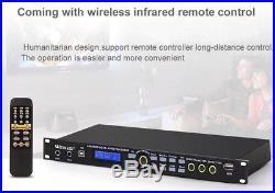 Digital Mixer Reverberator, Karaoke Audio Processor PRE-AMPL, Remote Controller