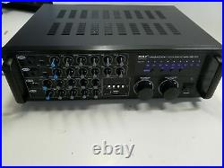 Dual Channel Pyle Mixing Amplifier 2000W Rack Mount Mixer Receiver System