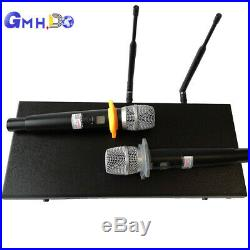 Dynamic Microphone system with 2 handheld wireless microphone