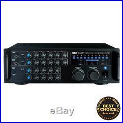 EMB Pro 700-watt Digital Karaoke Mixer Stereo Amplifier EBK37. LnStr