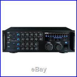 EMB Pro EBK37 700w DJ Karaoke Mixer Stereo Amplifier with MIC inputs & ECHO Excite