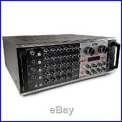 EMB Pro EBK47 1400w DJ Karaoke Mixer Stereo Amplifier with USB, SD, MP3, DSP, ECHO