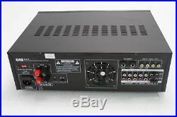 EMB Professional 700-Watt Digital Karaoke Mixer Stereo Amplifier Black EBK37