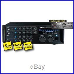 EMB ebk37 Pro Digital Karaoke Mixer Stereo Amplifier, 700-watt