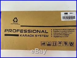 Empire KM-803 Karaoke Mixer + Cable Set