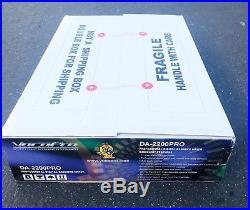 FACTORY VocoPro DA-2200 PRO Professional Digital Key Control Digital Echo Mixer