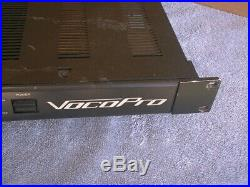 FREE SHIPPN' VP-300 PRO 300 WATT Professional POWER AMP (VocoPro) FREE SHIPPIN