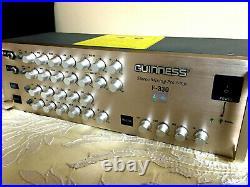 GUINNESS F 330 Mixer, Karaoke Mixing Pre Amplifier (Hard to Find)