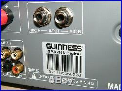 Guinness Karaoke Mixing Amplifier Sap-306 Digital Fully Functional