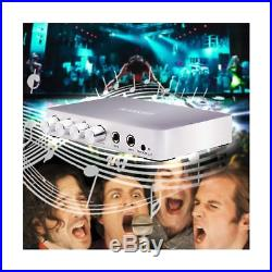 HDMI Karaoke Mixer Amplifier RAKOIT Portable Digital Stereo Audio Echo Syst