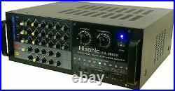 Hisonic MA-3800K 760W Dual Channel Karaoke Mixing Amplifier