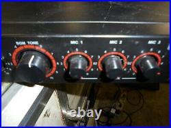 Hisonic Stereo H-fi Karoke Mixer/amplifier System Ma-222