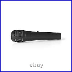Home Karaoke Mixer Kit 2 Mic with Echo Tone & Volume Control for Two Microphones
