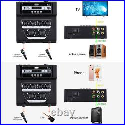 Home/Outdoor Karaoke Mixer Microphone Stereo Audio Echo Sound Console USB Play