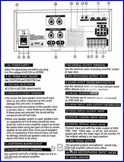 IDOLPRO IP-3600 II 1300W Mixing Amplifier BRAND NEW MODEL 2020