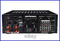IDOLPRO IP-388 II 1400W KARAOKE PRO Amplifier with Equalizer, Bluetooth, & Rec