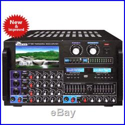 IDOLPRO IP-7000 8000W Max Output Professional Digital Console Mixing Amplifier