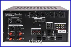 IDOLmain IP-5000 6000W Professional Digital Karaoke Mixing Amplifier Equalizer