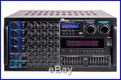 IDOLmain IP-5000 6000W Professional Karaoke Mixing Amplifier