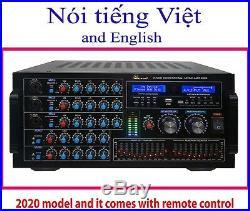 IDOLmain IP-5900 6000W Digital Echo Karaoke Mixing Amplifier With Repeat/Delay C