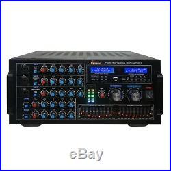IDOLmain IP-5900 6000W Karaoke Mixing Amplifier with Bluetooth Optical HDMI