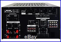IDOLmain IP-6000 II 8000W KARAOKE Amplifier Equalizer, LCD