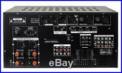 IDOLmain IP-6500 6000W Karaoke Mixing Amplifier Digital Sound Effects & Optical