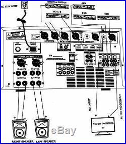IDOLmain IP-6500 6000W Karaoke Mixing Amplifier/w Digital Effects NEW
