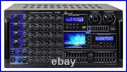 IDOLmain IP-6500 6000W Karaoke Mixing Amplifier /w Digital Sound Effects