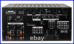IDOLmain IP-6500 6000W Pro Karaoke Mixing Amplifier /w Digital Sound Effects