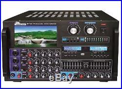 IDOLmain IP-7000 II 8000W KARAOKE Amplifier EQ, 7 LCD & Recorder by IDOLPRO