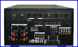 IDOLmain IP-7000 II 8000W Pro KARAOKE Amplifier EQ, 7 LCD & Recorder /bluethoot