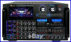 IDOLmain IP-7000 II 8000W Pro KARAOKE Amplifier EQ, 7 LCD & Recorder by IDOLPRO