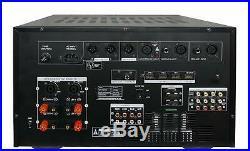 IDOLmain IP-7000 II 8000W Professional Digital Console Mixing Karaoke Amplifier