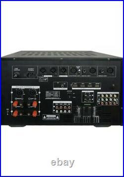 IDOLmain IP-7500 8000W Digital Mixing Amplifier with LCD & Bluetooth