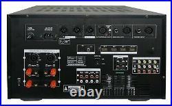IDOLmain IP-7500 8000W Pro Karaoke Digital Mixing Amplifier 7 Screen Equalizer