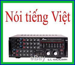 IDOLpro IP-3800 1300W Pro Karaoke Digital Echo Mixing Amplifier We speak Viet