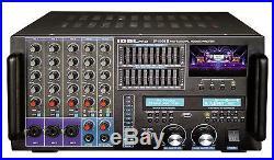 IDOLpro IP-6000 II Bluetooth/HDMI/Record/LCD/10 Band EQ 8000W Mixing Amplifier