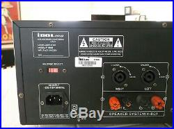 IDOLpro IP-888 II 1200W Karaoke Mixer Amplifier