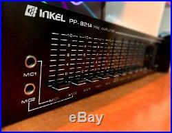 INKEL PP-821A Pre-Amplifier Pro Mixer MINT