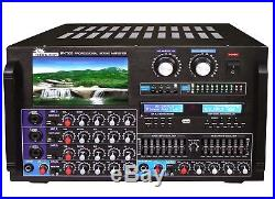 IP-7000 8000W Max Output Professional Digital Console Mixing Amplifier