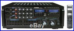 Idolpro Ip-388 II 1400w Professional Karaoke Mixing Amplifier