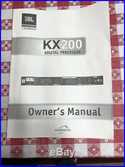 JBL KX200 Sound processor VANG SO Karaoke