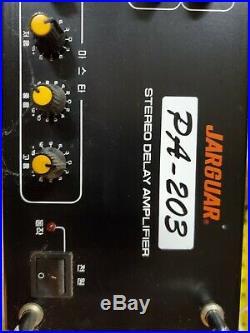 Jarguar Suhyoung PA-203 Karaoke Mixing Amplifier