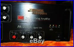 Jarguar Suhyoung Pa-203 III Stereo Mixing Amplifier 200 Watts