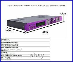 Jeus Zeus X8 1u Dsp Karaoke Digital Surround Mixer & Loudspeaker Management
