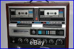 Karaoke 8 Track/Double Cassette/2 Mic Inputs Rainbow SM-7 NIKKODO VINTAGE