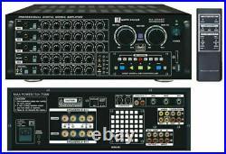 Karaoke Amplifier MA-3000KII with U-330BT UHF wireless mic. With BT function