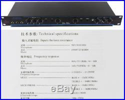 Karaoke Audio Frenquency Processing Station, Audio Sound Processor, Mixer DSP-100
