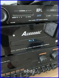 Karaoke Jukebox amplifier mixer Blu-ray Hard Drive-5000 Music Videos Loaded